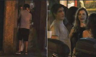 Eles têm andado sem aliança. Dani estaria procurando um apartamento para morar sozinha no Rio. Pelo menos esse é o comentário entre o povo que convive com os dois. A humorista não conseguiu superar a traição de Adnet (que foi flagrado beijando outra na rua).