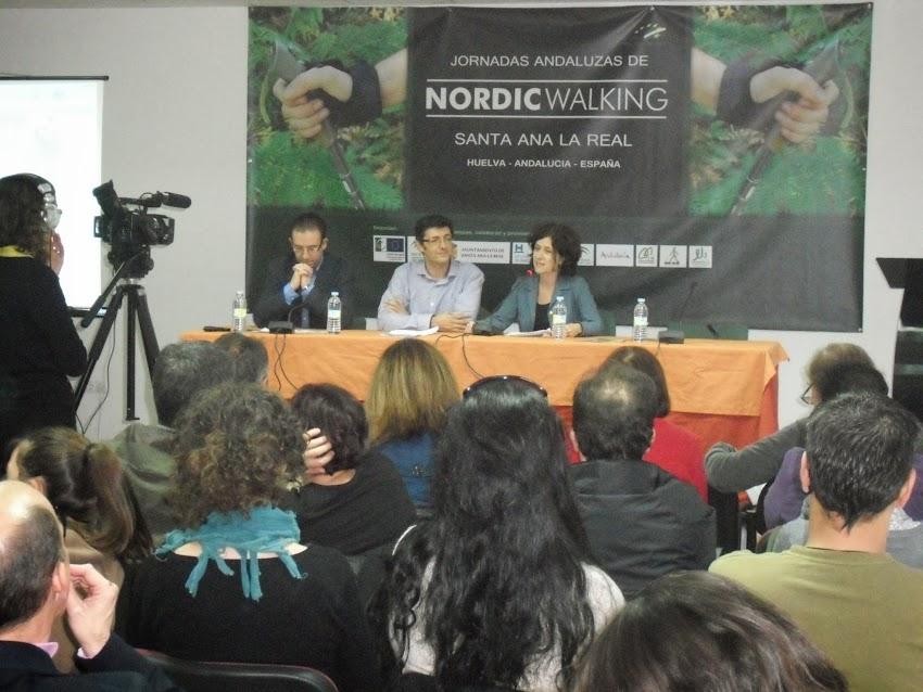 1ª JORNADAS ANDALUZAS DE NORDIC WALKING SANTA ANA LA REAL - OCTUBRE 2013