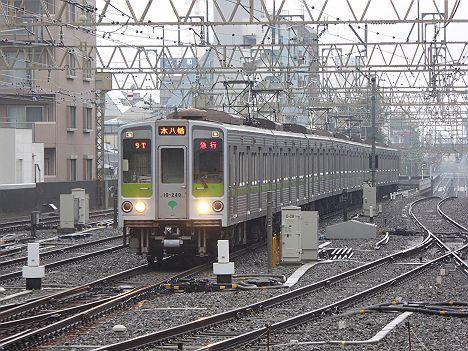 京王電鉄 都営新宿線直通 急行 本八幡行き3 10-000形240F