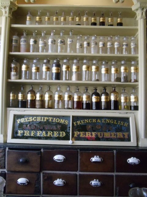 Interior of Stabler Leadbeater Apothecary