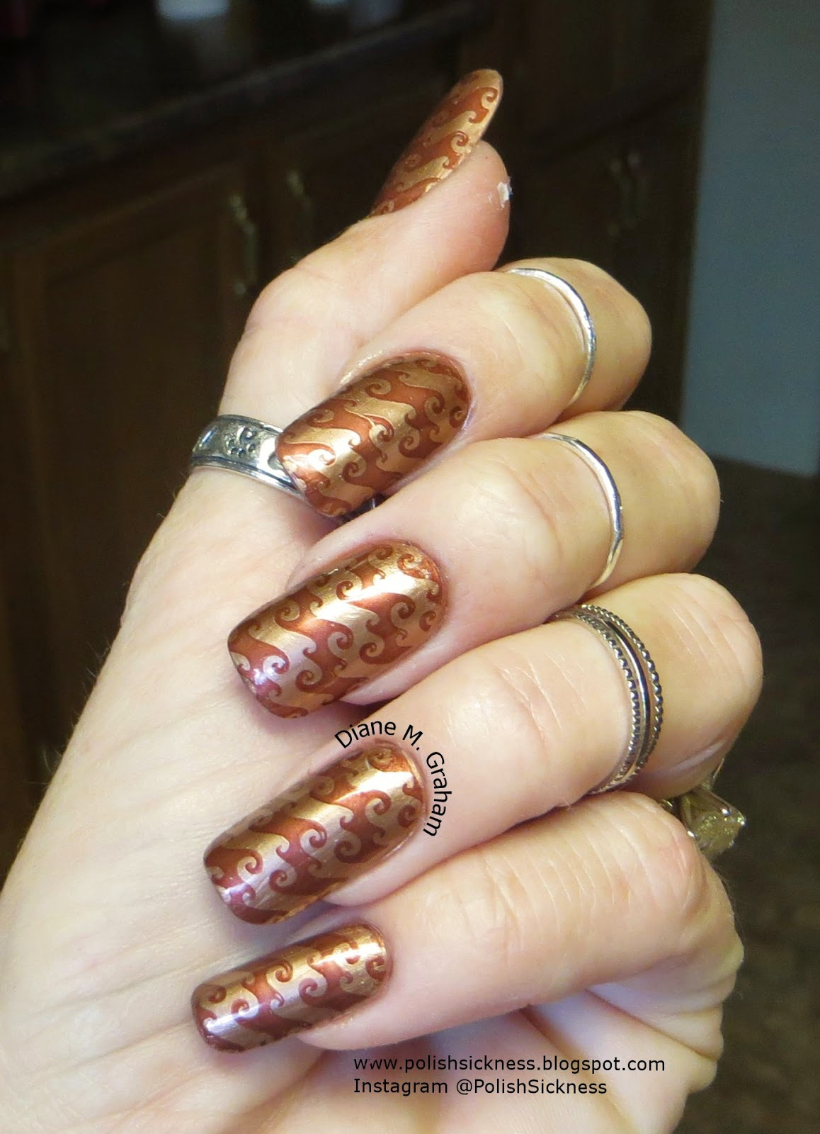 Ulta, China Glaze Unplugged, MoYou Sailor 07 stamp