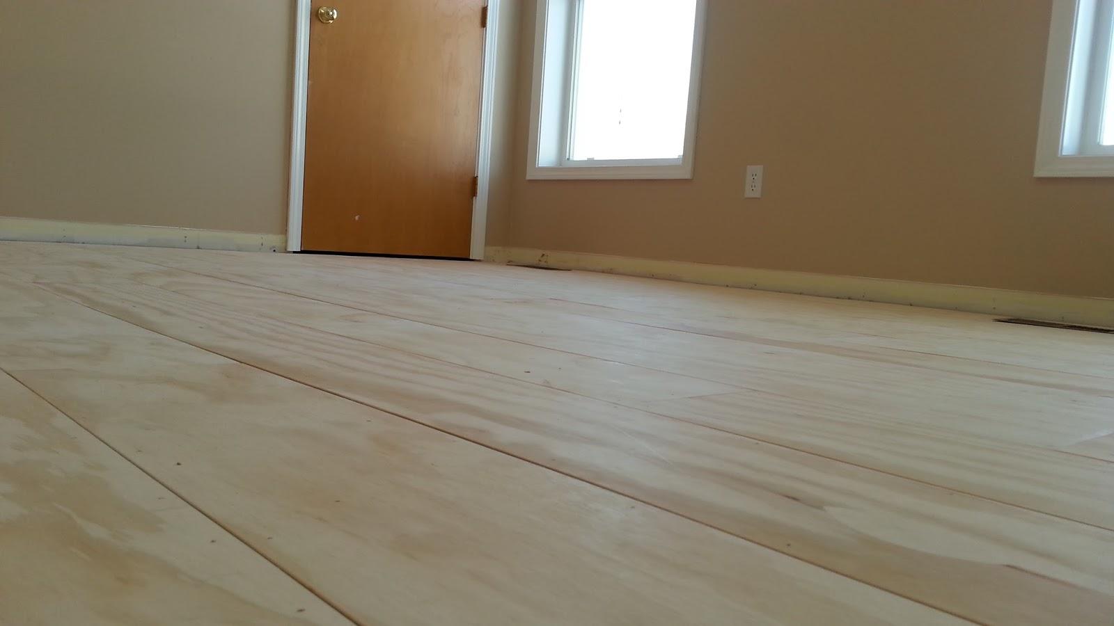 Plywood hardwood floor check the subfloor engineered for Wood floor alternatives