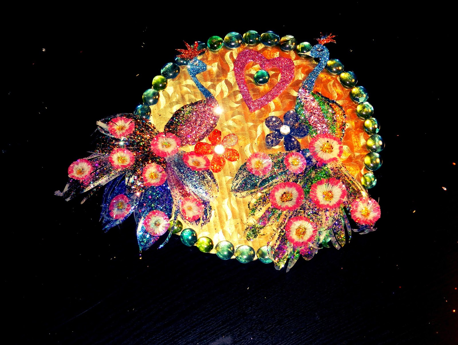 Creative decoration idea from waste materials crazzy craft for Decoration from waste materials