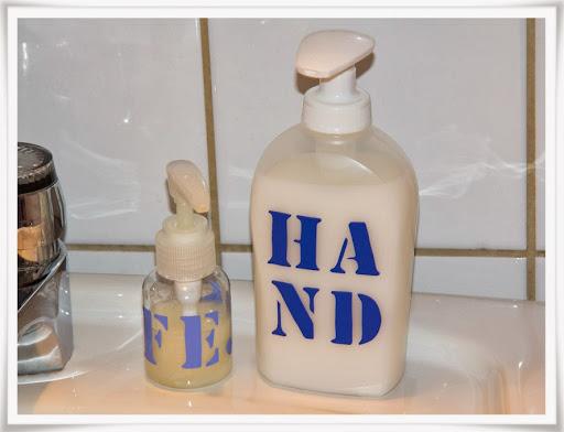 Tvål för fejs och hand