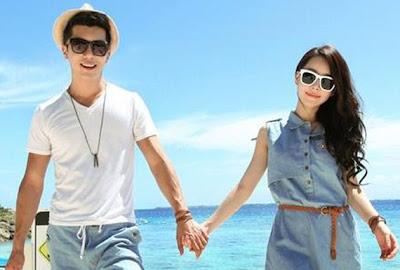Lãng mạn với đồ đôi đi biển