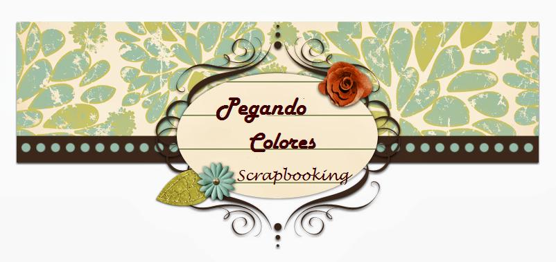 Pegando Colores Scrapbooking