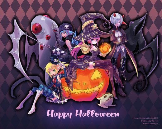 Happy Halloween 2010 por ZiyoLing