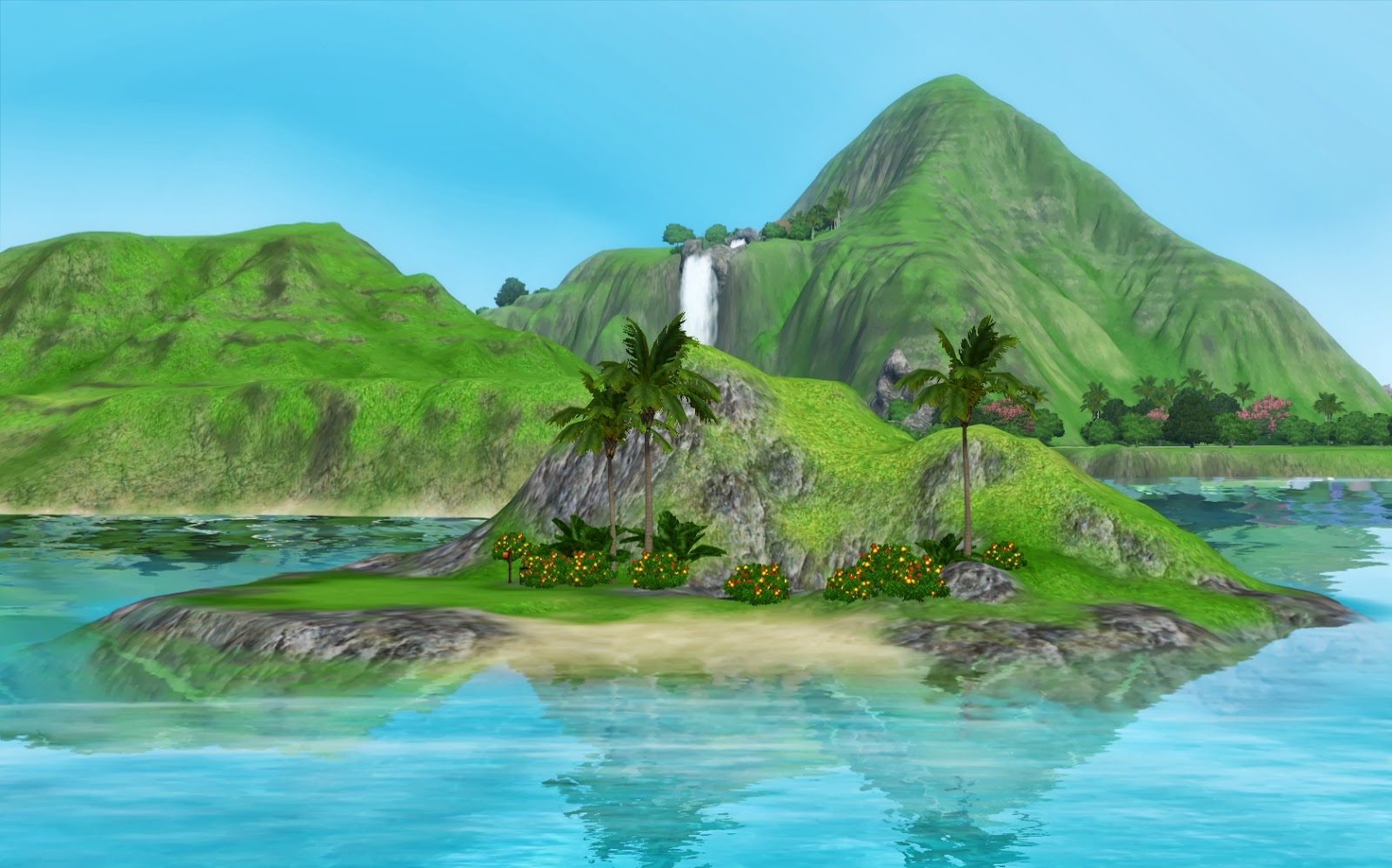 Sims  Island Paradise Houses Download