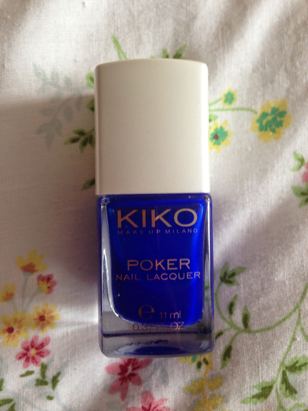 Vernis numero 5 de la collection poker de chez kiko