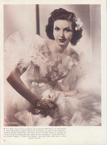 Ann Miller Argentinean baby photos of famous people