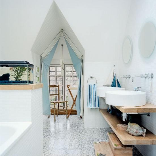 Baño Estilo Marinero:El Estilo Marinero en Casa