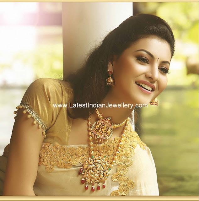 Bhima Jewellery Bands: Gold Temple Jewellery Designs