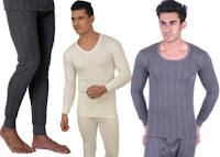 Buy Winter Body Thermal & Innerwears at Upto 55% off & Extra Cashback via paytm