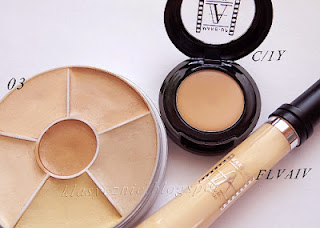 Make-up Atelier Paris concealer C1Y, FLVAIV