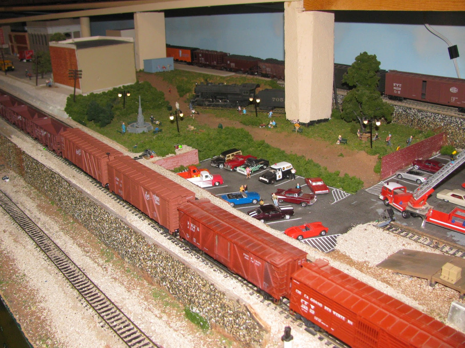 They Have Two Main Rooms, Each With A Different Scale Model Railroad. They  Have The Tracks And Trains Set Up, Along With The Scenery That The Trains  Pass By ...