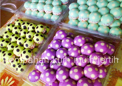 APAM POLKADOT WARNA PURPLE (UNGU)