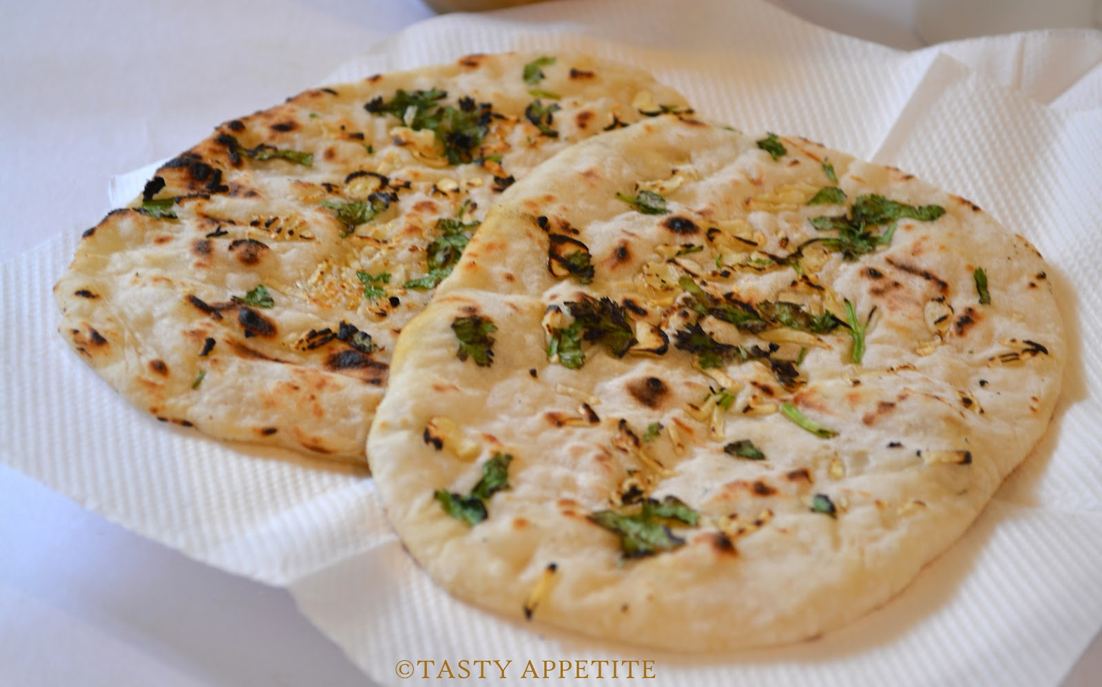 How to make garlic naan yeast free step by step recipe forumfinder