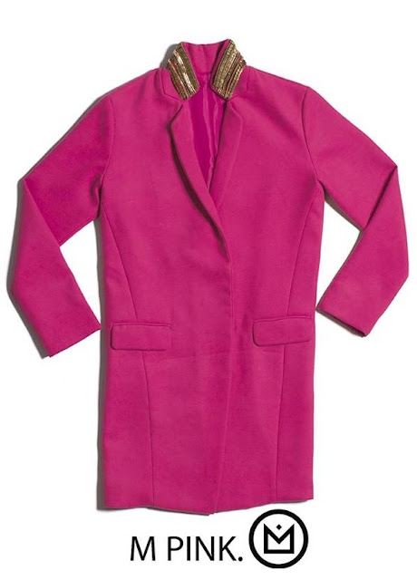 hipanema manteau rose