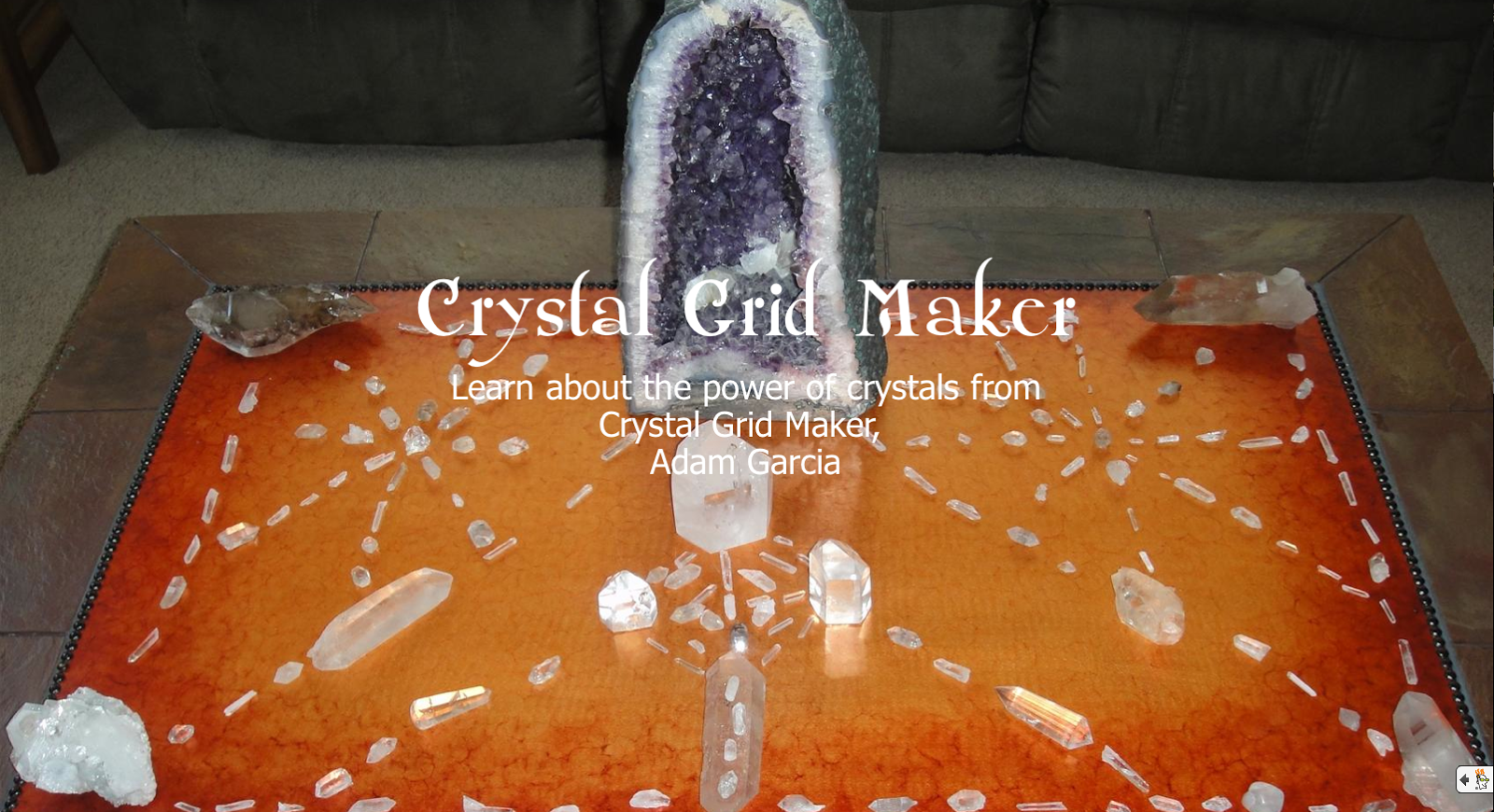 8 Year Old Kid Uses Crystal Grids To Transmute Negative Energy And Explains How It Works