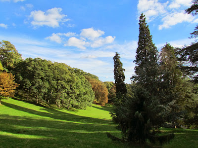Waddesdon Manor, autumn, Baron Ferdinand de Rothschild, National Trust, visit, day trip, grounds, UK, England, countryside