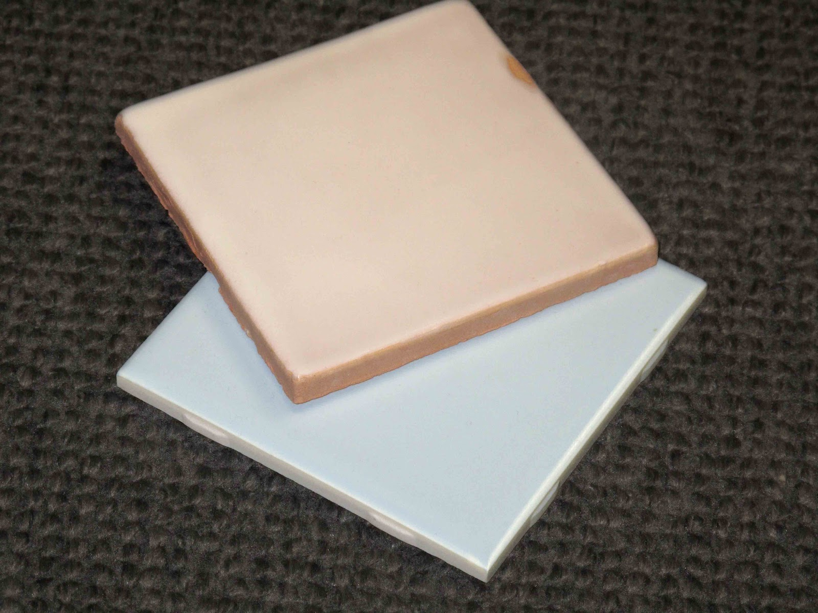 Garage sale ceramic tile perefect for artists or small for Ceramic tiles for crafts projects