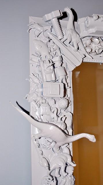decorar un espejo