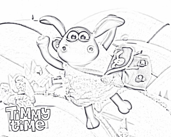 Shaun The Sheep Colouring Pictures To Print