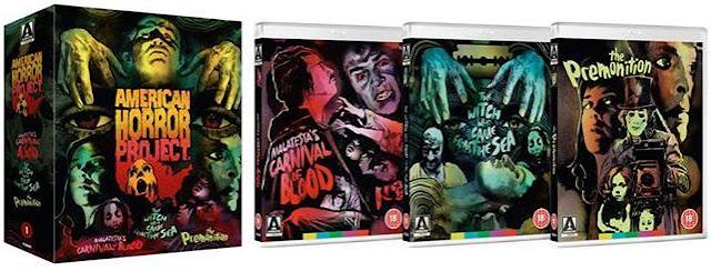 American Horror Project Vol 1 Blu-ray