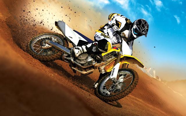 Suzuki Motocross / Bike moto sport wallpaper