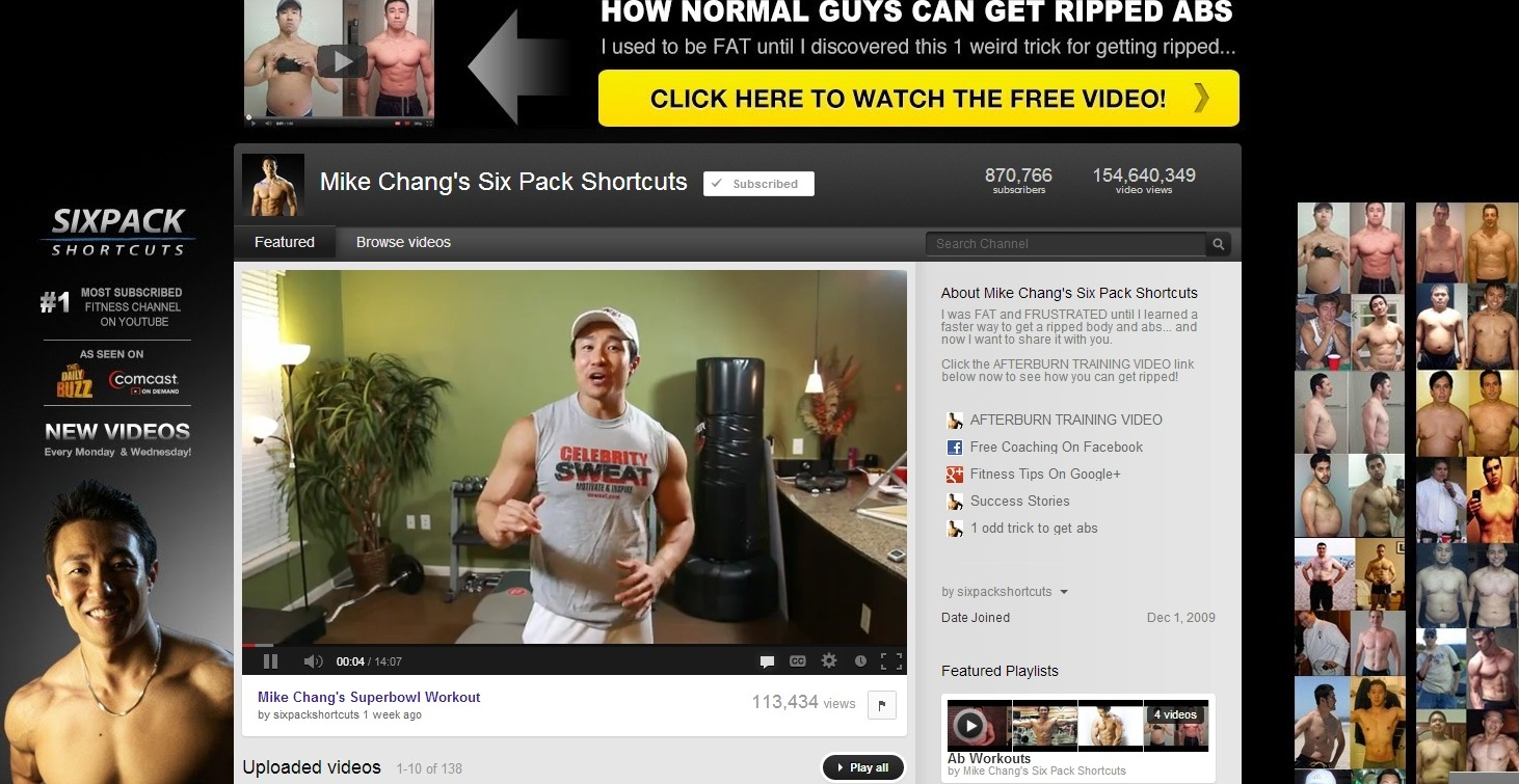 Mike Chang Six Pack Shortcuts Free