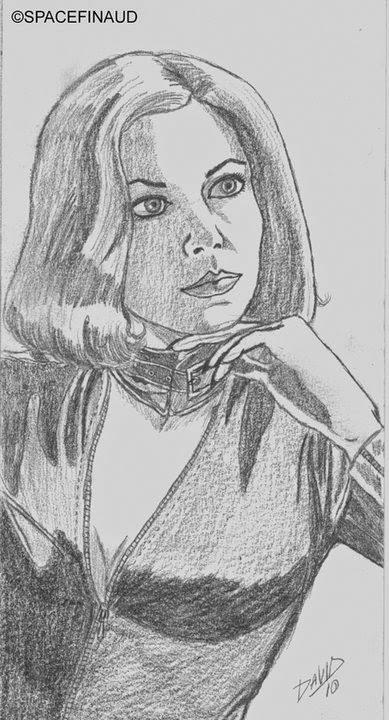 Portrait d'une inconnue, femme, combinaison cuir, jeune