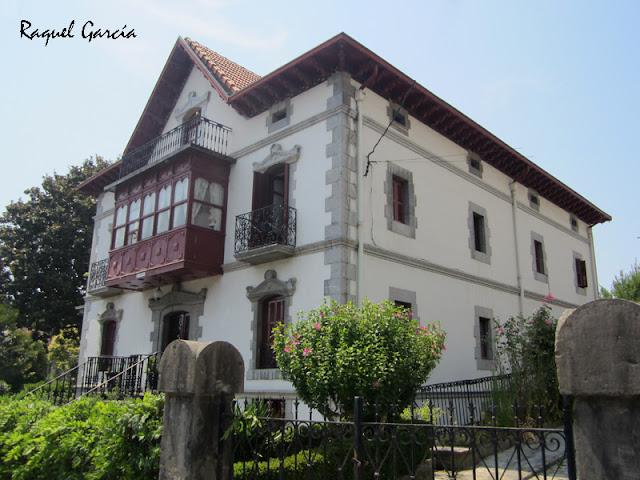 Villa Margarita (Margarita Tercilla - Familia Uribe) en Amurrio (Álava)