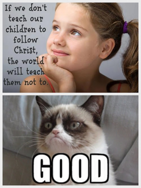 Grumpy cat on atheism Christianity jesus  religion
