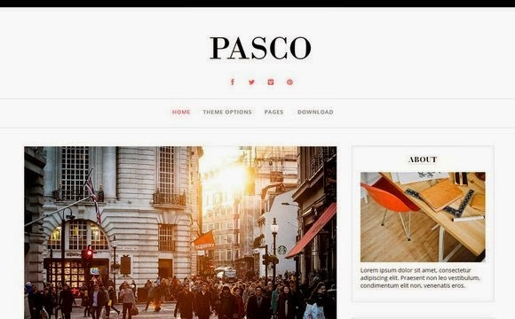 Pasco Blogger Template