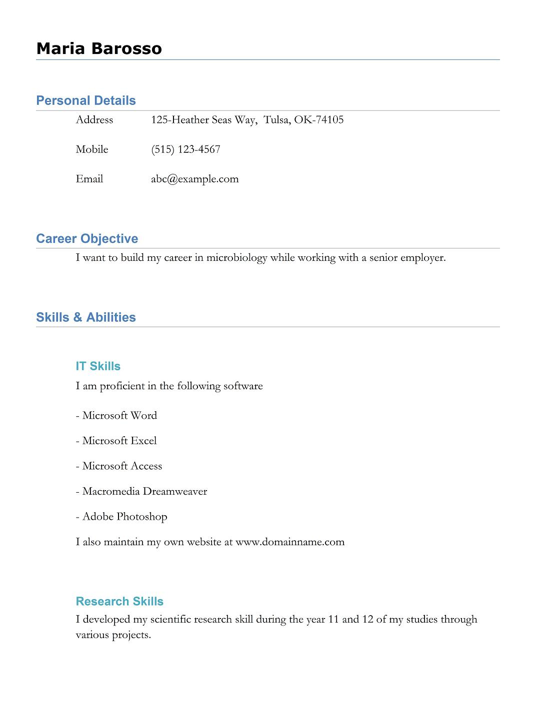 9 best free resume templates download for freshers best 9 best free resume templates download for freshers yelopaper Gallery