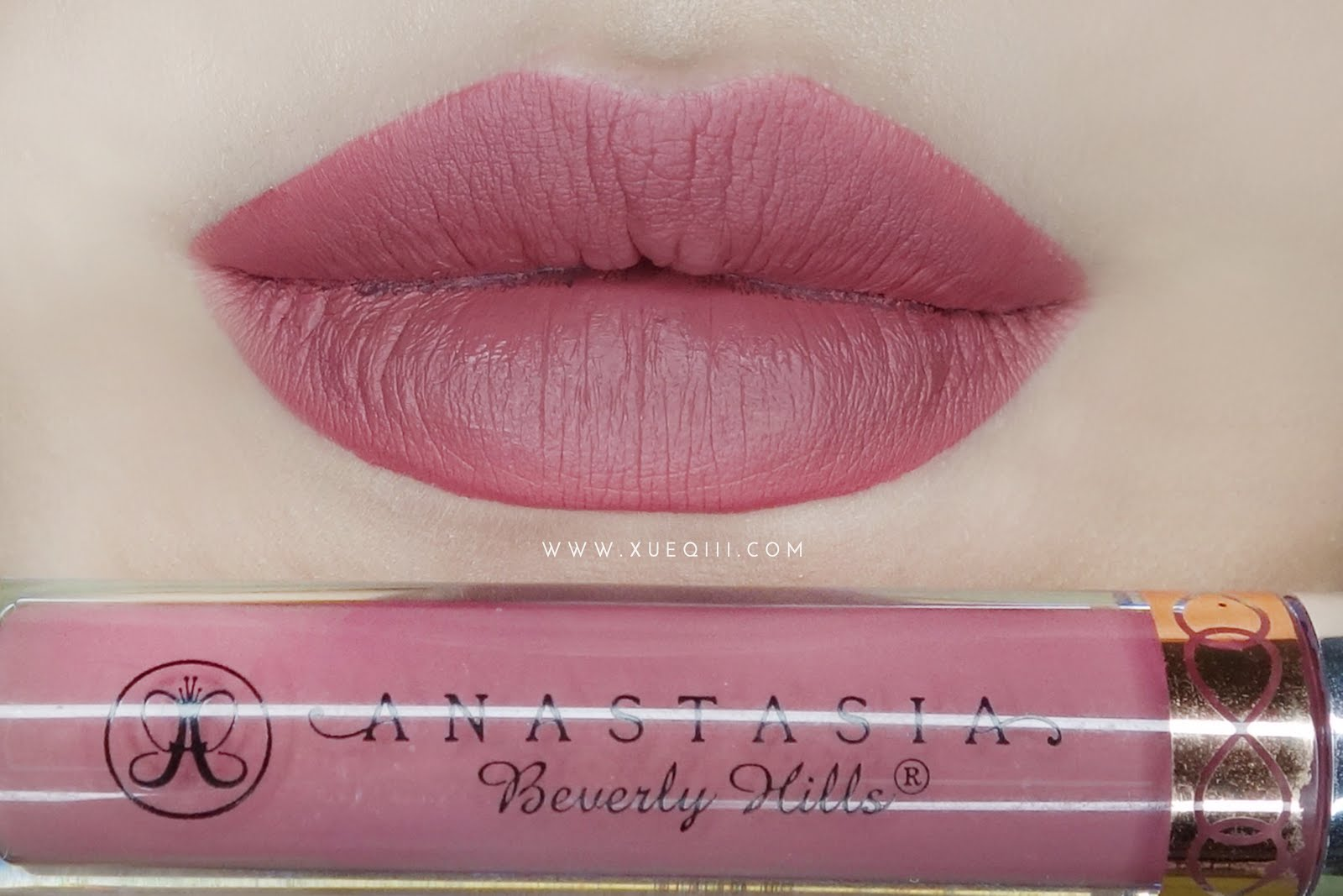 Fabuleux Anastasia Beverly Hills | Liquid Lipstick in Dusty Rose | Xueqi's  BG06