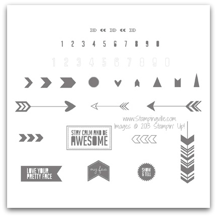 Stampin' Up! Show & Tell 2 Stamp Brush Set Digital Download
