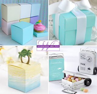 wedding fun favor boxes