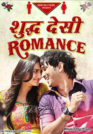 Shuddh Desi Romance 2013 poster