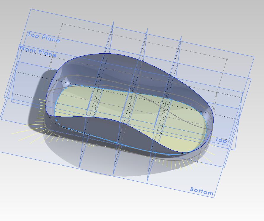 how to make a curve planar