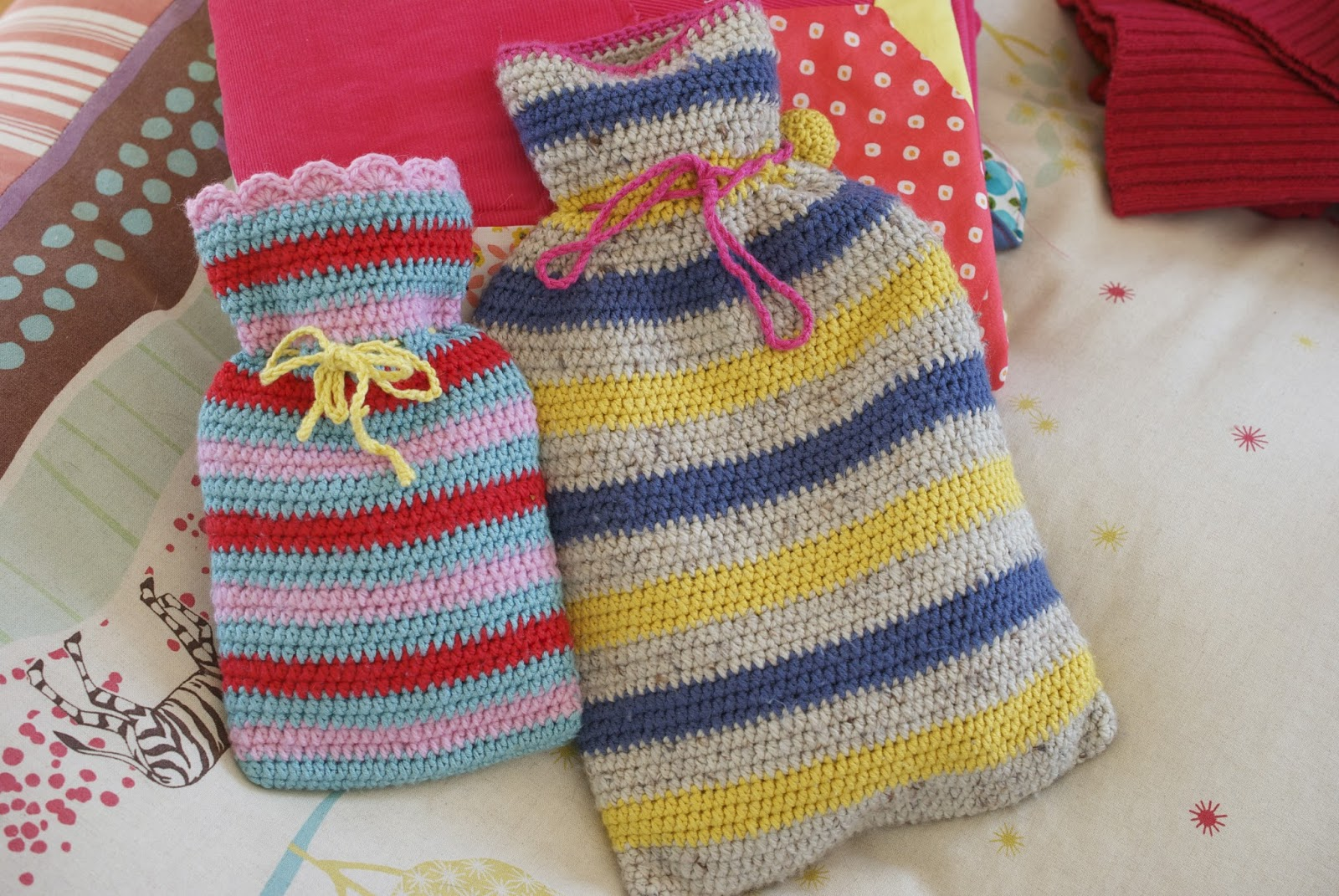 Greedy For Colour: Hot Water Bottles and Watercolours!