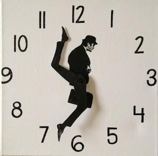 silly walks clock diy