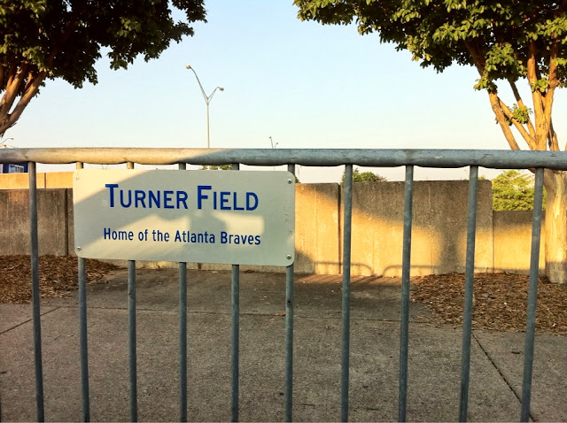 Turner Field Sign