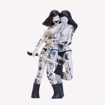 Kidrobot: Les Viandardes Vinyl Figure by McBess