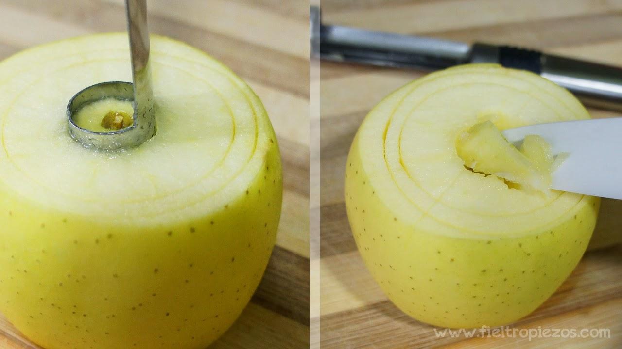 manzanas asadas paso 3