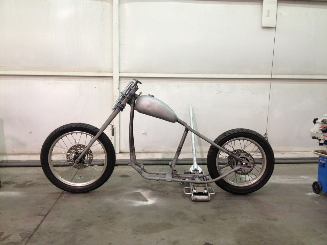 Andy Carter BF5 Builder Update | Born Free Motorcycle Show