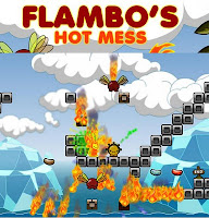 Flambo's Hot Mess walkthrough.