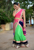 Anasuya photos in half saree-thumbnail-20