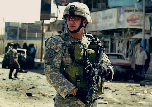 Gambar tentara militer Amerika takut dengan negaraKorea Utara, China, Iran, Rusia