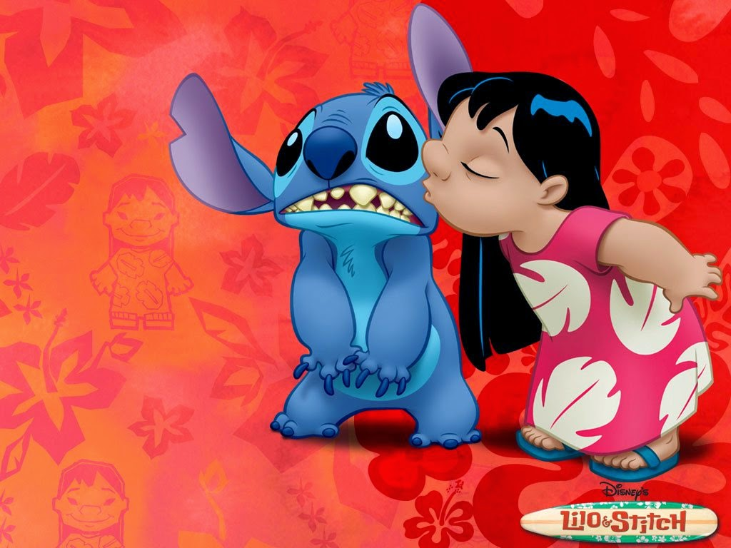 It is a photo of Bewitching Lilo and Stitch Pics